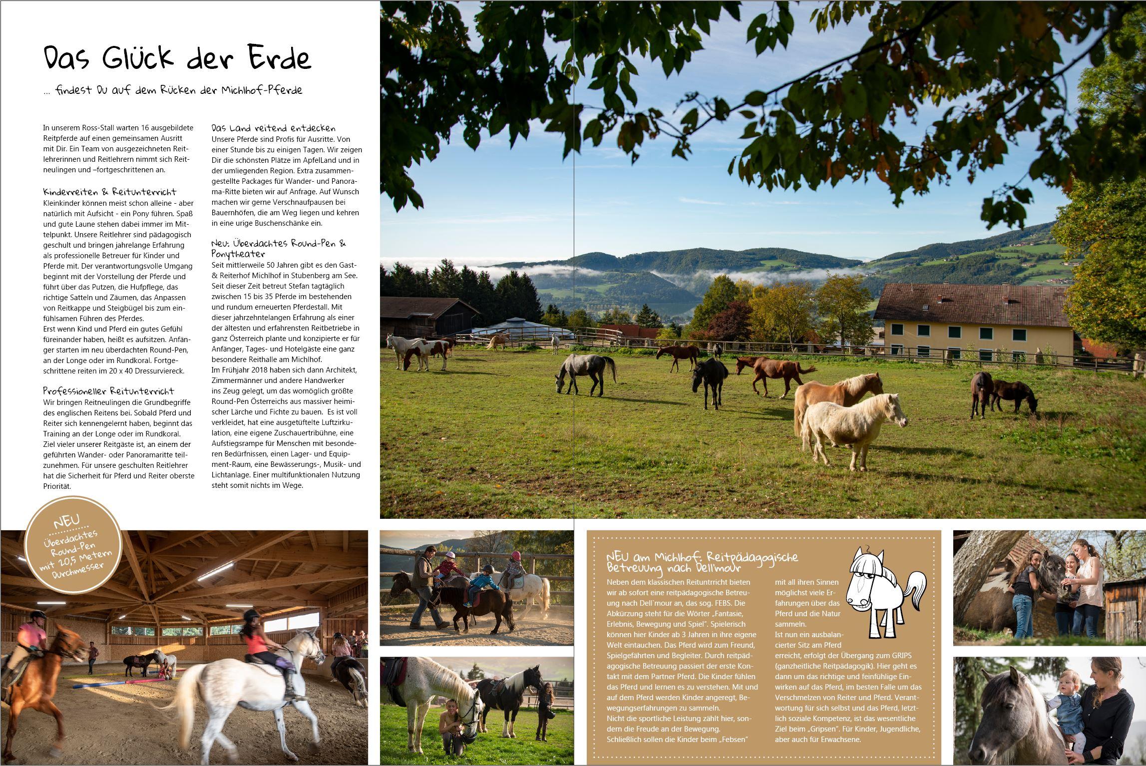 Der Michl, das Online-Magazin vom Michlhof
