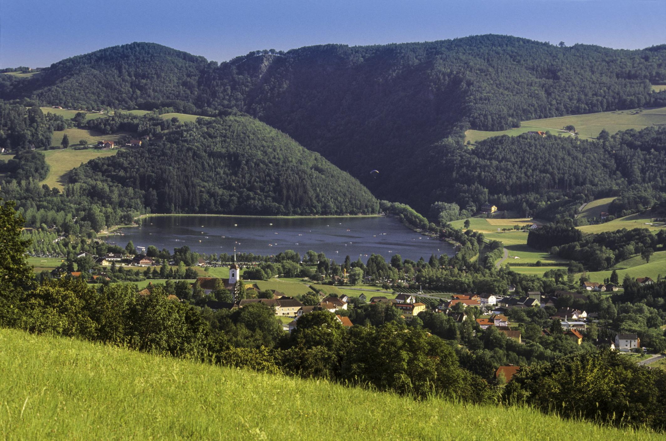 Herrlicher Panoramablick vom Michlhof