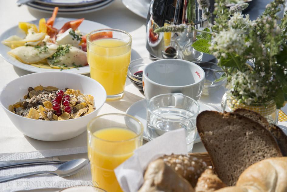 Frühstücken am Michlhof
